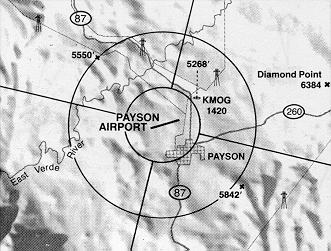 Vicinity of Payson Airport